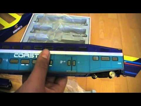 Athearn HO Scale Coaster Bombardier BiLevel Cars Review