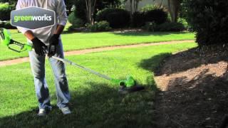 Greenworks G-MAX 40v Cordless Trimmer/Edger