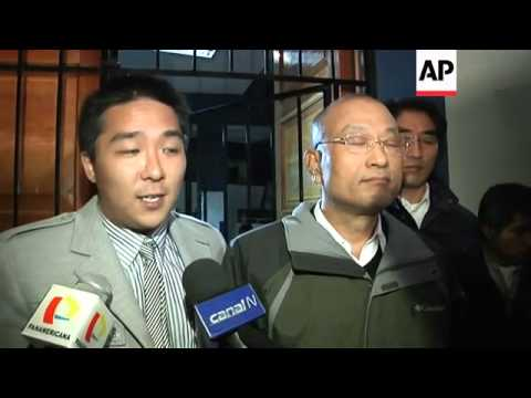 SKOREAN OFFICIALS ON HELICOPTER CRASH
