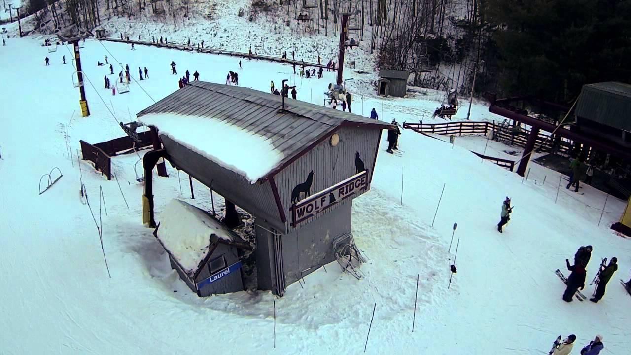 wolf ridge ski resort - youtube