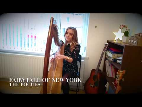 (Harp Cover) Fairytale of New York - The Pogues