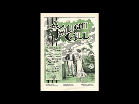 A Twilight Call (1900)