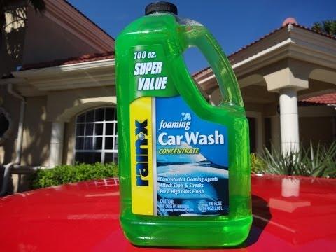 Rainx Car Wash Review