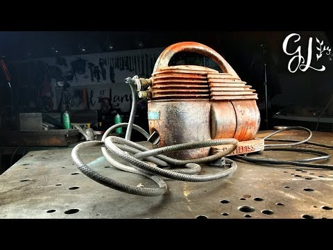 1940's DeVilbiss Air Compressor RESTORED
