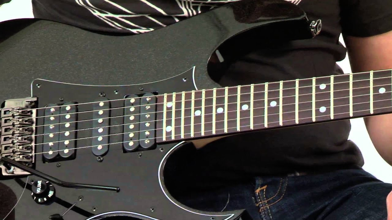 ibanez prestige rg655 guitar youtube
