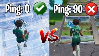 Get Better/Lower Ping + Tips For Playing On High Ping In Fortnite!