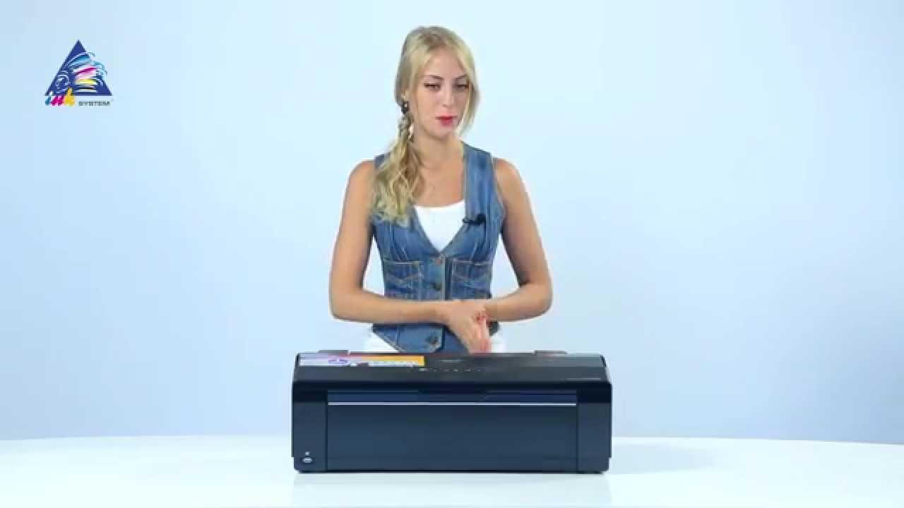 Замена роликов подачи бумаги на Epson T1100, 1410, L1300, R1900 .