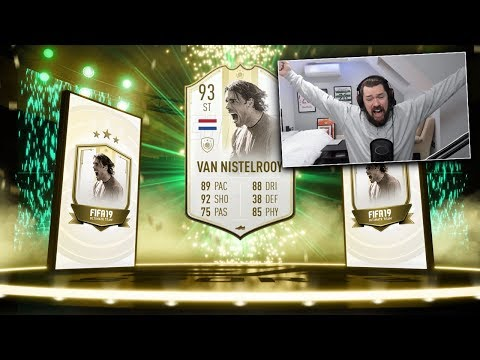FIRST PRIME ICON MOMENTS SBC! 93 ST Van Nistelrooy - FIFA 19 Ultimate Team