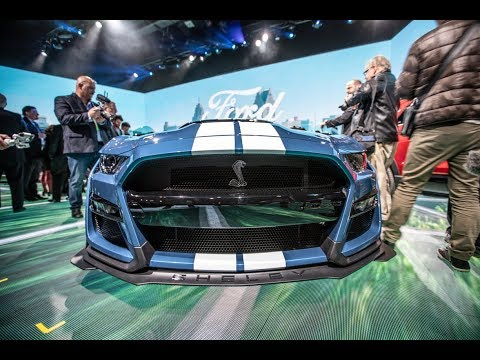 LIVE Reveal Of The 2020 Shelby GT500 Release At The Detroit Auto Show