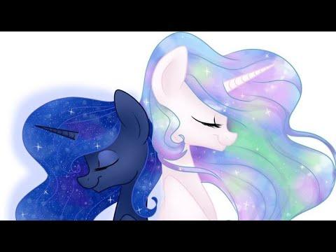 Май литл пони клип принцесса Луна и Селестия - YouTube