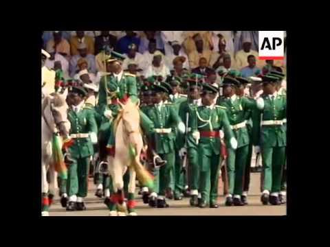 NIGERIA: OLUSEGUN OBASANJO INAUGURATION CEREMONY