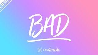 Bad (Piano Karaoke Instrumental) James Bay