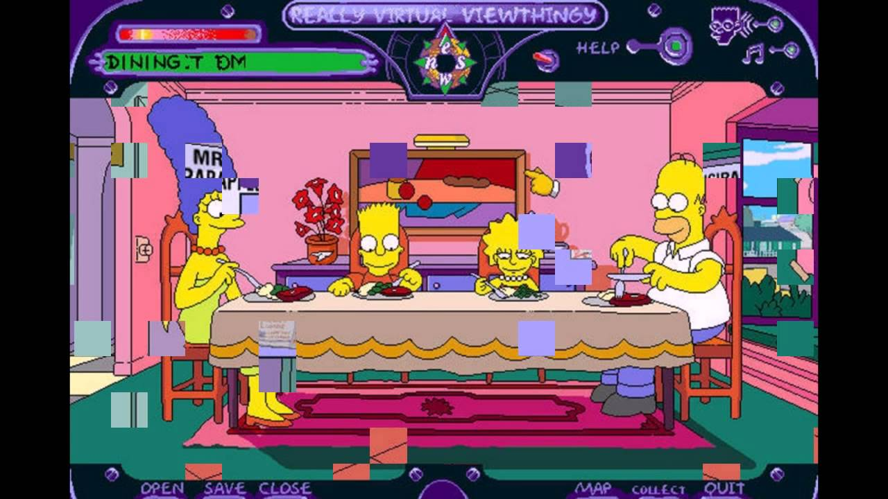 The simpsons virtual springfield pc 1997 gameplay youtube for Virtual springfield