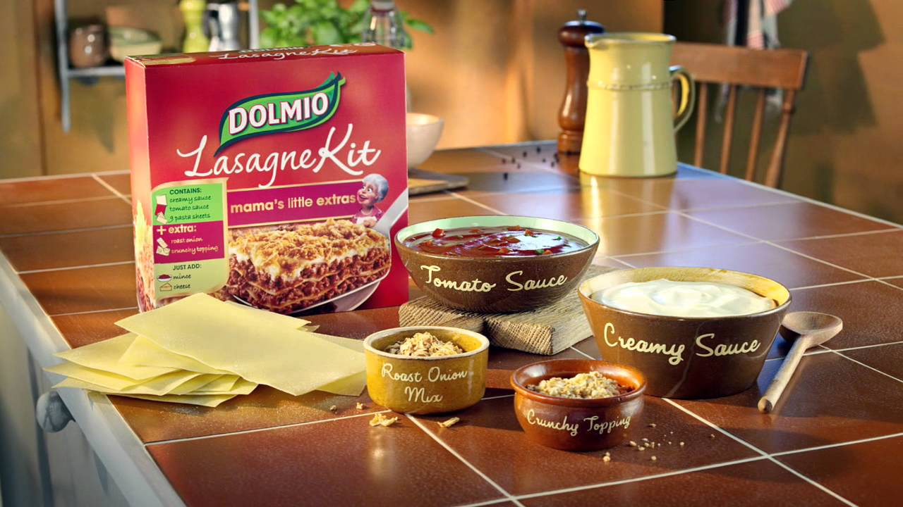 dolmio lasagne kit instructions