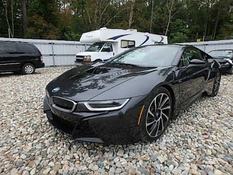 2016 Bmw I8 Exhaust Sound At Junkyard Youtube