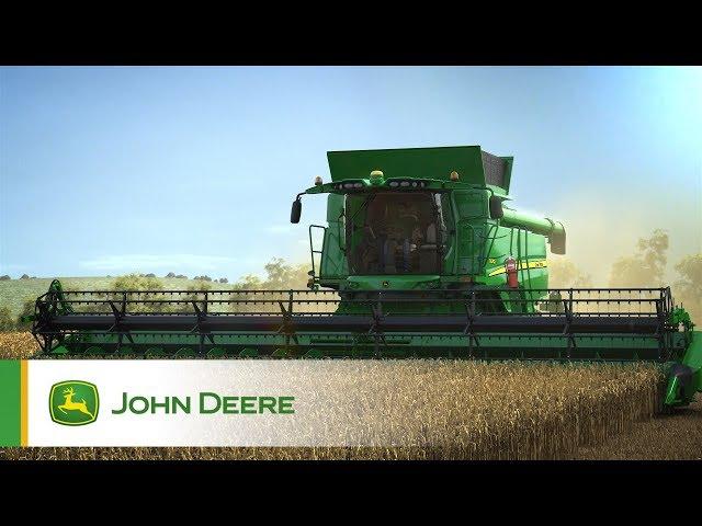 John Deere - Mietitrebbie Serie T - Video animazione