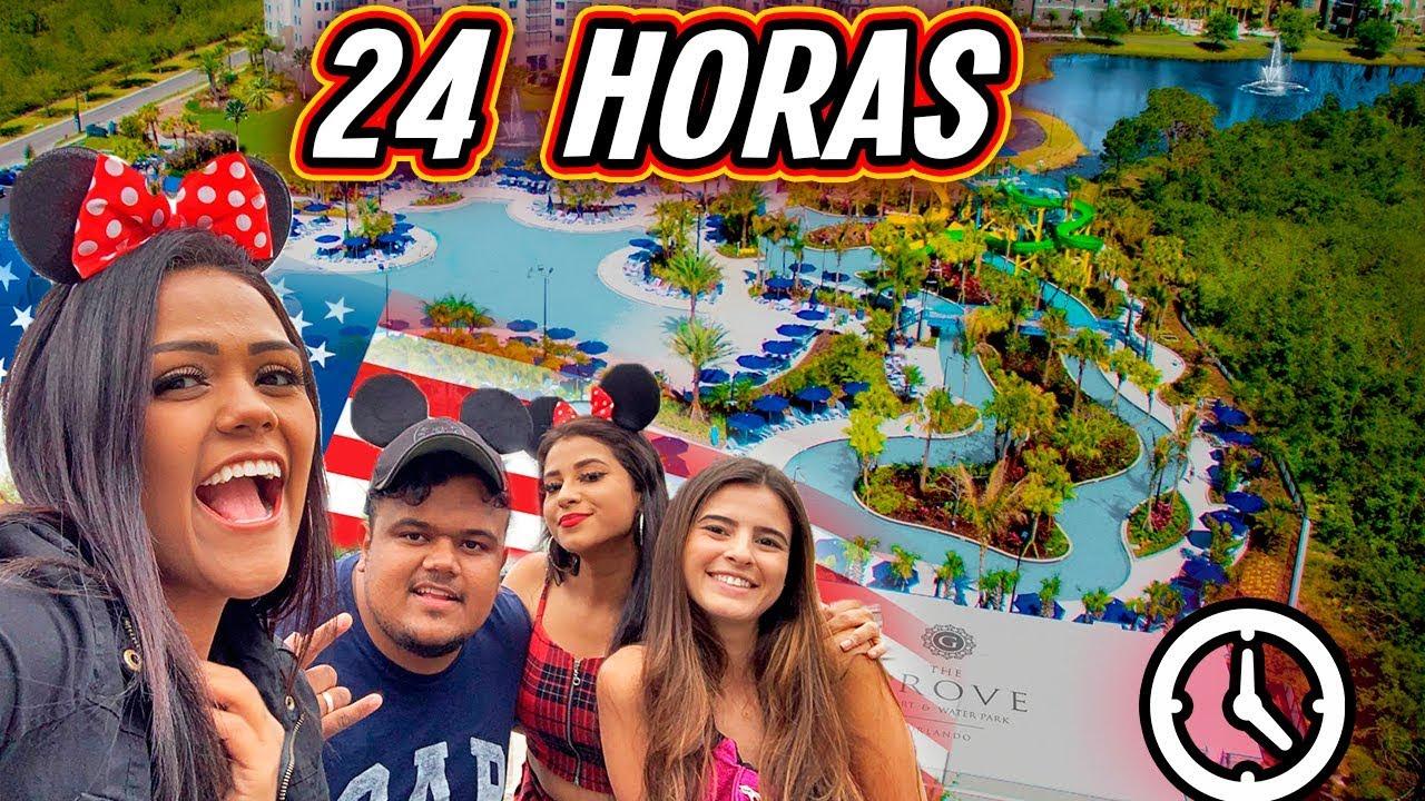 24 HORAS NO RESORT DOS EUA !!!