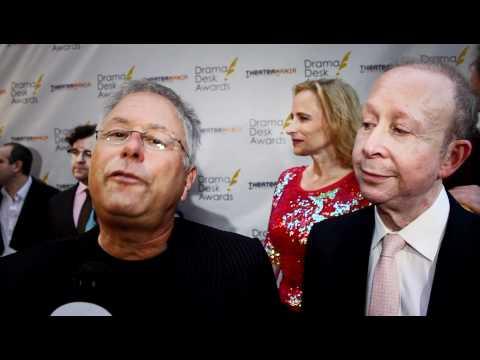 Alan Menken & Jack Feldman Interview on the Drama Desk Awards 2012 Red Carpet