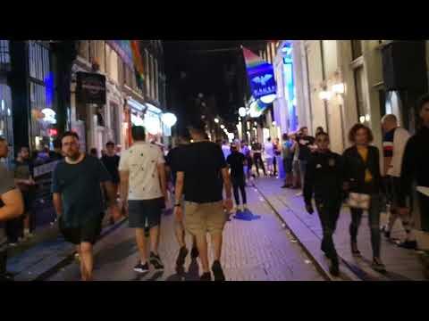 A'dam Gay Area 2 Waarmoestraat Fetish Bars Clubs Shops. Drugs Dealers Hookers