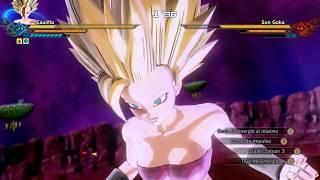 Caulifla ssj3 vs Goku