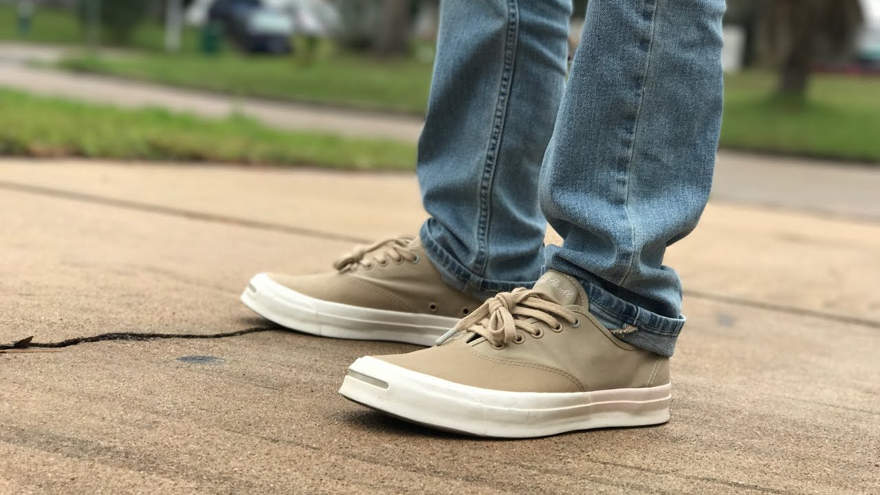 7d931ddca85 HANCOCK X CONVERSE JACK PURCELL REVIEW - YouTube
