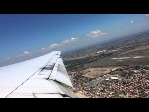 HD Singapore Airlines B777-200ER takeoff Rome 2014