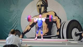 Максим Волков. Толчок, 3 подход – 165 кг. «Железная Лига Гераклиона-2017»