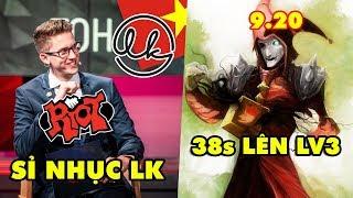 Update LMHT: BLV Riot Games sỉ nhục Lowkey Esports - Shaco 9.20 chỉ mất 38 giây để lên Level 3
