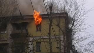 2016.10.11 - Пожар на Кожевнической @ Москва