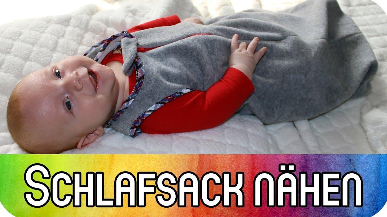 Schlafsack für Babys und Kleinkinder nähen | Schrägband ...