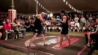 Mark Gilby fights challenger  - Outback Fight Club - Wynnum Workers Club 2015