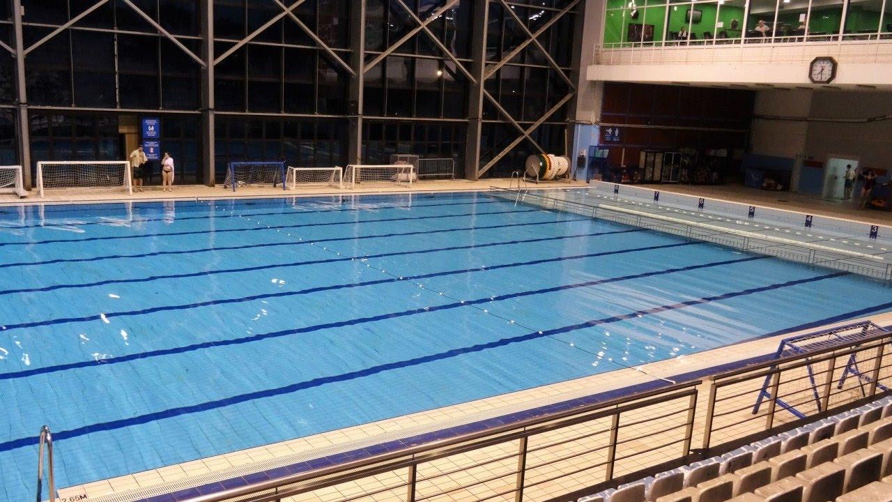 tasmajdan indoor olympic pool belgrade serbia - Indoor Olympic Swimming Pool