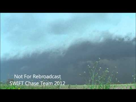 Shelf Cloud Time Lapse Monrovia,Indiana