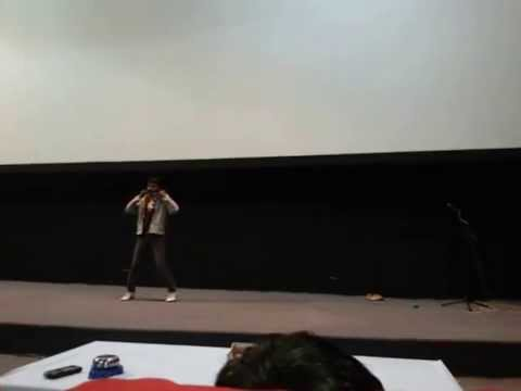 Rudresh's (Crazy) Dance Performance At JSW Annual Dance Compitation
