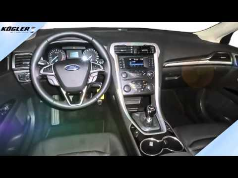 ford mondeo mondeo turnier 1 5 ecoboost trend 22 youtube. Black Bedroom Furniture Sets. Home Design Ideas