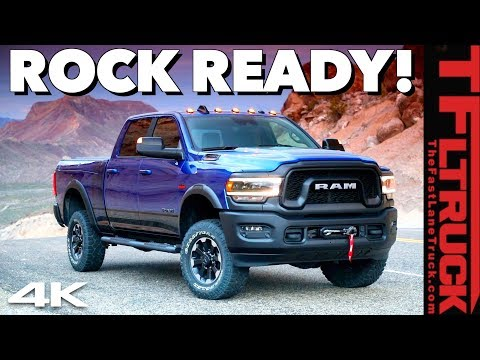 Brand New 2019 Ram Power Wagon: What's New and What's Not!