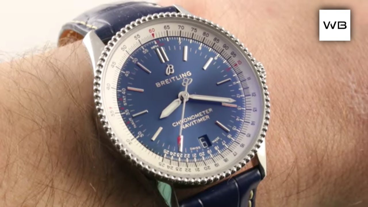 2018 Breitling Navitimer 1 Automatic 38 Calculator Bezel Chronometer A17325211c1p1 Watch Review