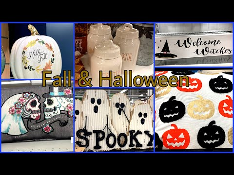 Fall 🍂and Halloween 🎃Decor / Burlington/ Marshall's / BJs Shop With me