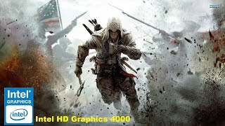 Review Assassin Creed III,Intel HD Graphics 4000