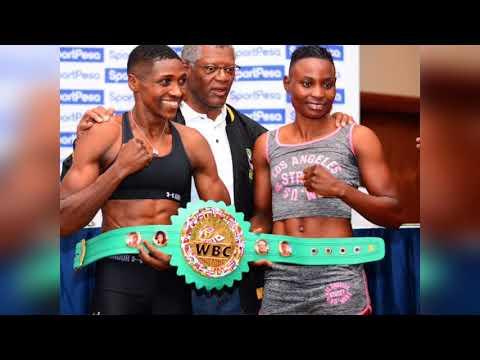 FATUMA ZARIKA EMERGING AS CHAMPION OVER CATHERINE PHIRI PUBLIC REACT KENYA ZAMBIA WBC BOXING