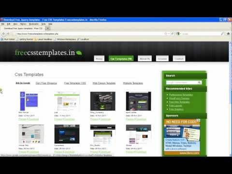 How to Download and Edit Free Css Template