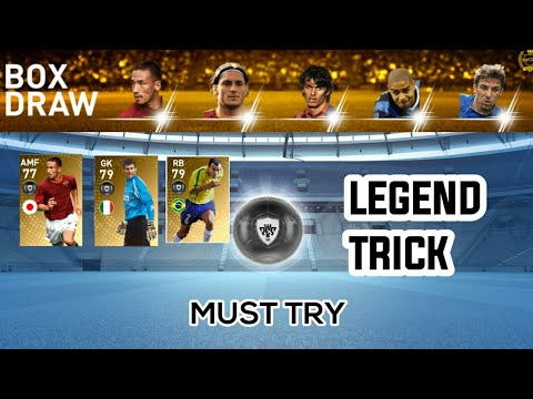 How to Get Black Ball In Legends Italian Clubs Box Draw |PES 2019 Mobile