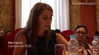 #SalvaPeironcely10. Pleno de la Junta Municipal de Puente de Vallecas