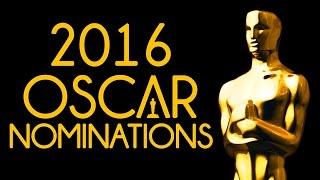 2016 Oscars -- Nominations & Live Reaction #JPMN