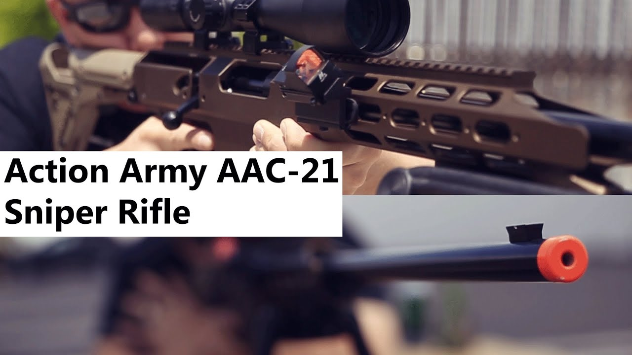 Airsoft Gi Action Army Aac 21 Cnc Machined Gas Bolt Action Sniper