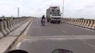 CHURU bridge चूरू का पुल
