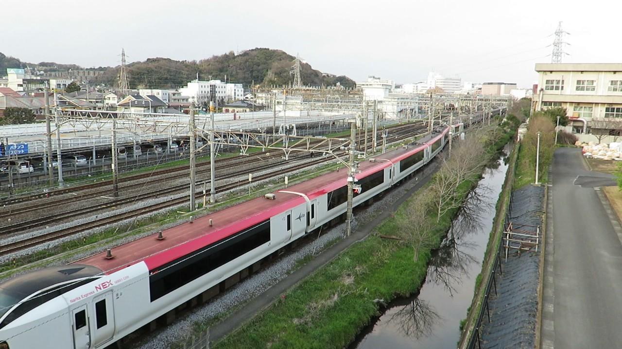 JR東日本・NEX鎌倉車両センター...