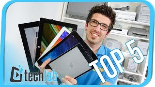 Top 5 Tablets - TECHLAB Spezial - 4K