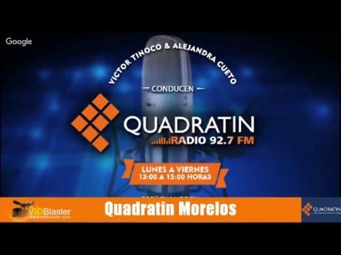 Quadratin Radio 6 mayo 2016