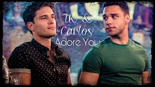 Cover images TK & Carlos || Adore You